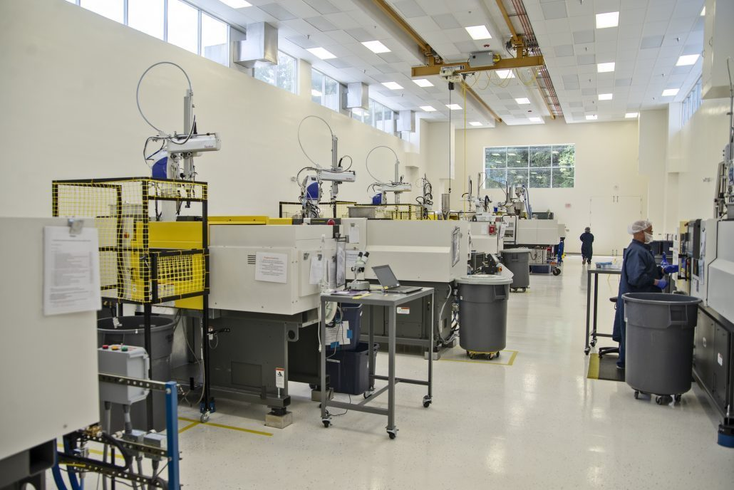 injection molding, TPE, clean room