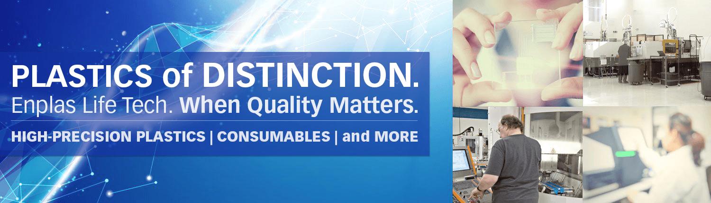 Enplas life tech, high precision plastics, tpe, plastics for life sciences, plastic consumables