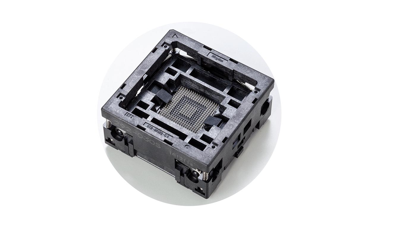 Semiconductor test socket
