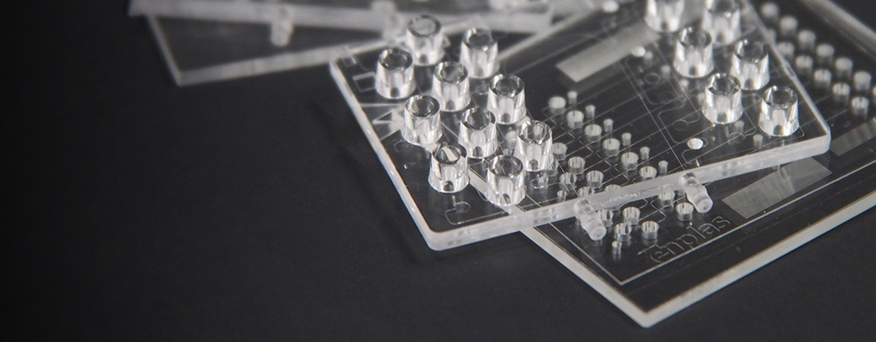 medical injection molding, tooling for medical injection molding, enplas life tech, medical molding, plastics for medical molding, plastics for medical injection molding, microfluidics, microfluidic chip, plastic microfluidic chip, microfluidic device